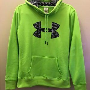Neon Green Under Armour Hoodie